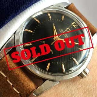 Omega Seamaster Automatic Vintage Black Honeycomb Dial