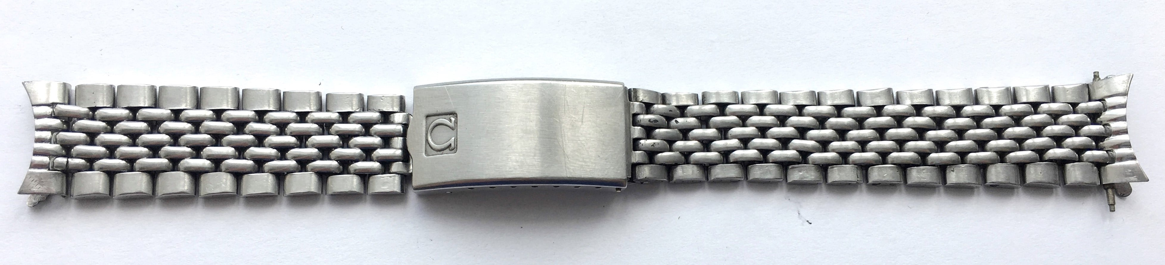 Omega Strap 18mm Seamaster  Beeds of Rice BOR