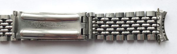 Omega Strap 18mm Seamaster Constellation Beeds of Rice BOR