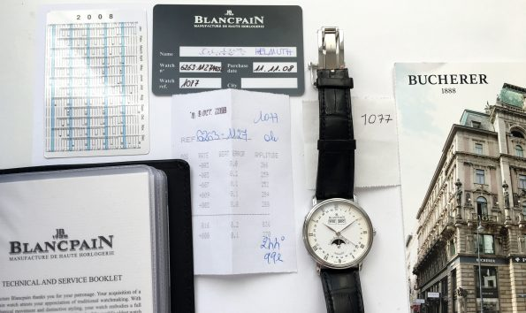 Blancpain JB Villeret Triple Date Moonphase Full Set