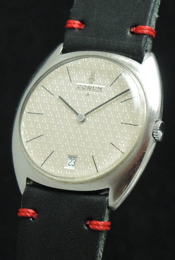 Rare Corum Automatic watch with sturctured dial