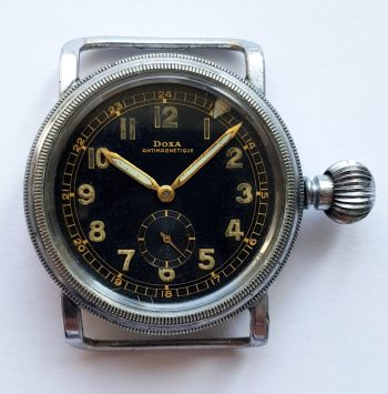 Genuine Doxa 2. WK Military World war 1936 ww2 wk2 40mm Oversize