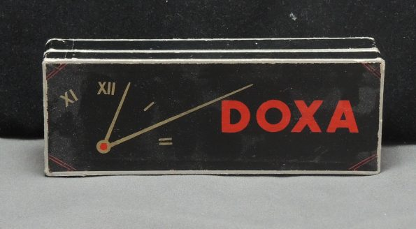 Genuine Doxa box in black