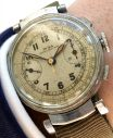 Early Doxa Chronograph Vintage with three colored dial