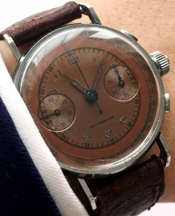 [:en]Investment grade Vintage Doxa Three Pusher Chronograph[:de]Vintage Doxa Dreidrücker Kronendrücker Chronograph[:]