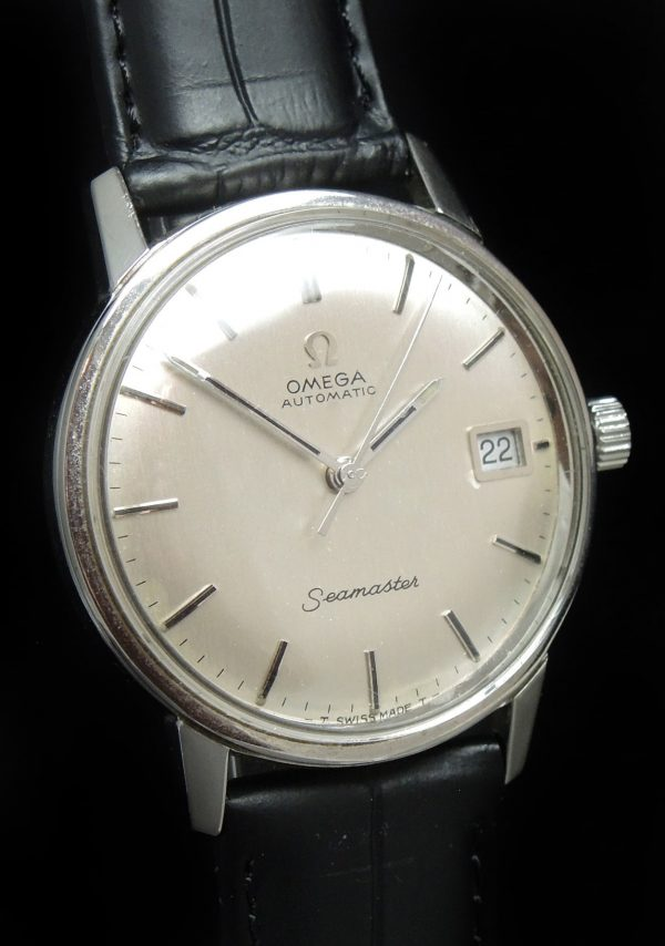 Beautiful Vintage Omega Seamaster with LINEN dial
