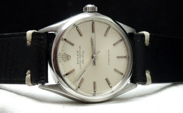 Top Rolex Air King with white dial