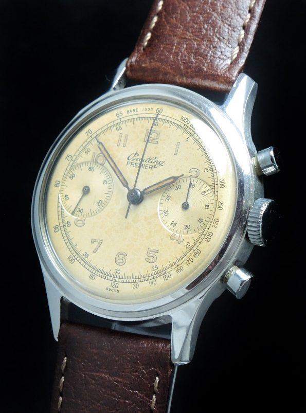 Superrare Breitling Permier Chronograph
