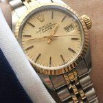 Rolex Damen Lady Datejust Steel Gold Ladies