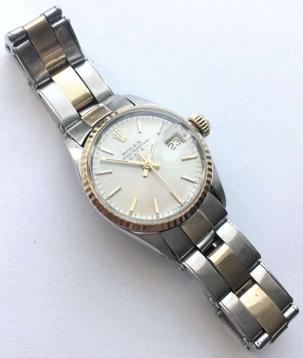 Rolex Damen Lady Datejust Steel Gold Ladies