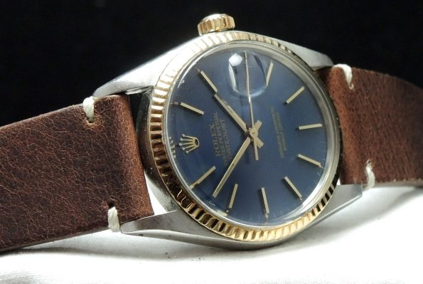 Serviced wonderful Rolex Datejust Automatic blue dial 16013