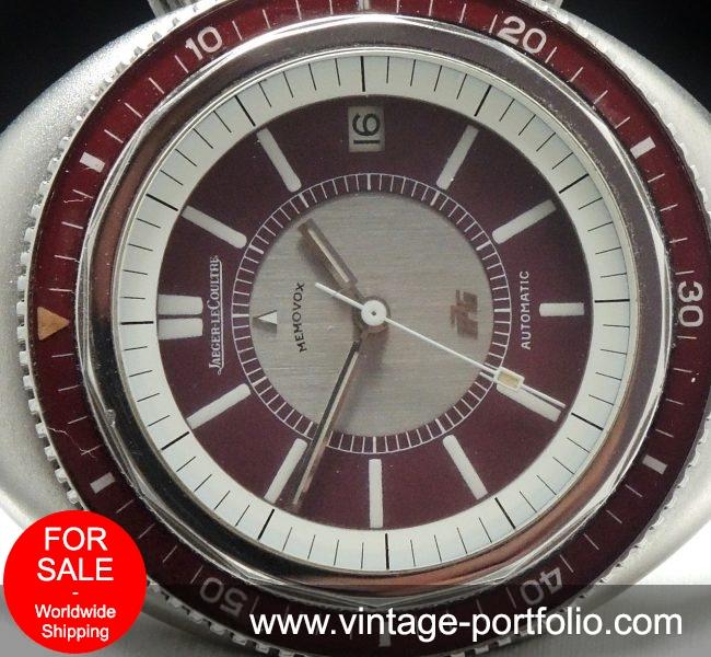 Jaeger LeCoultre Memovox Polaris GT 2 burgundy Vintage