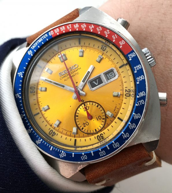 Currently in Service:  Genuine Seiko Pepsi Chronograph