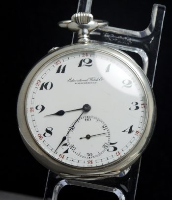 Wonderful IWC Pocket Watch in 925 Silver taschenuhr