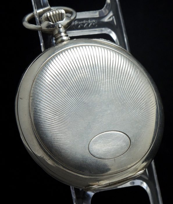 Wonderful IWC Pocket Watch in 925 Silver taschenuhr