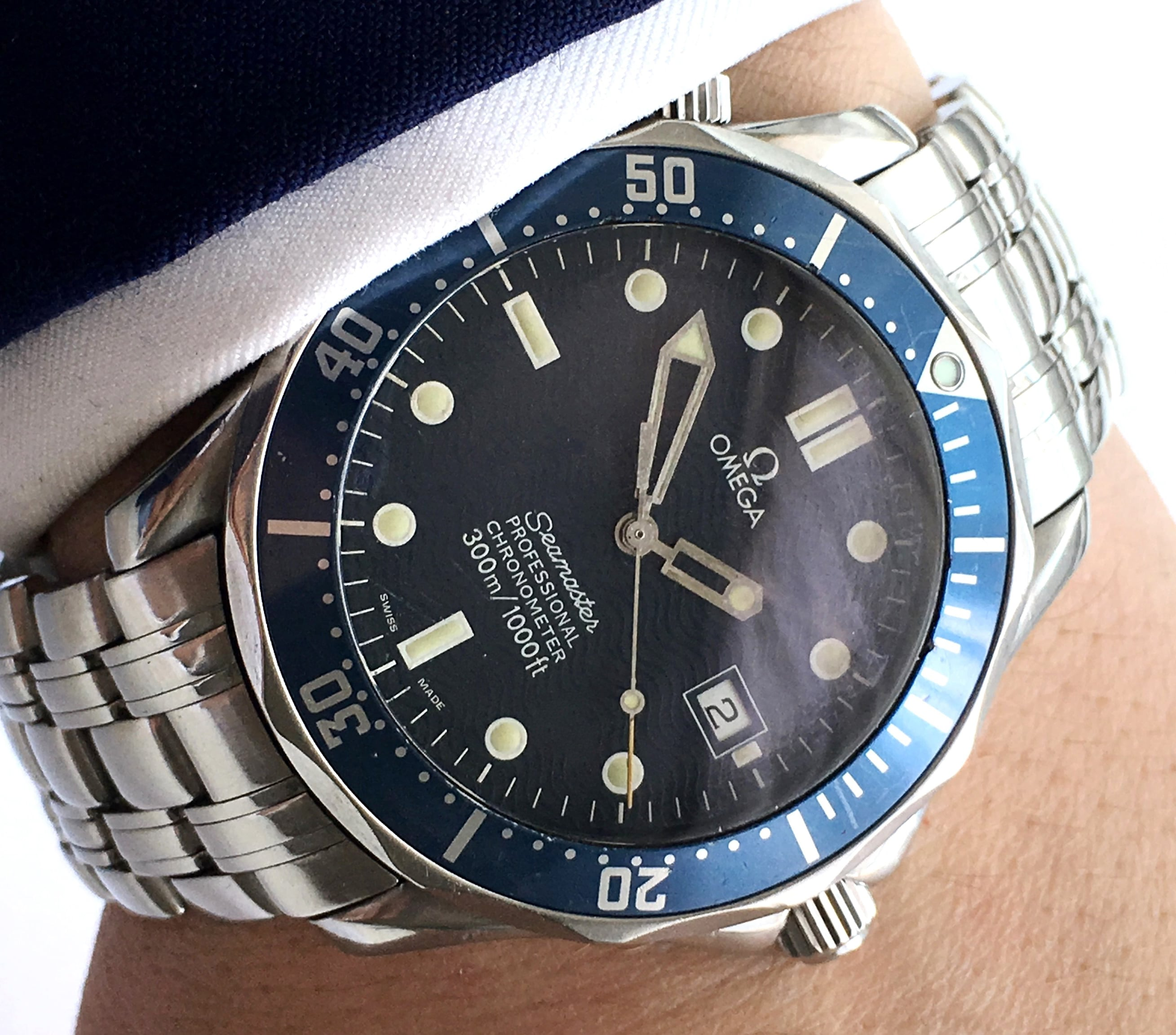 James Bond Omega Seamaster 300 Professional Automatic 41mm ...