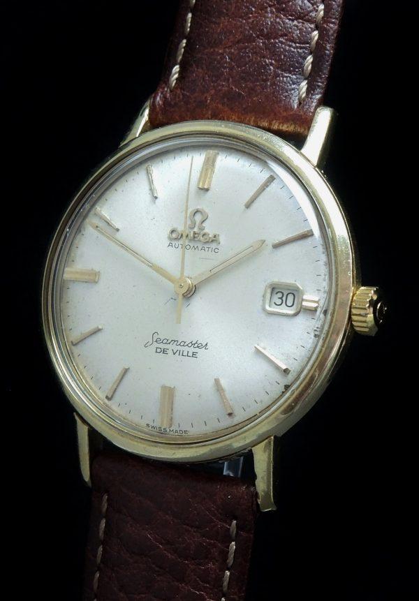Solid Gold Omega Seamaster De Ville Automatic Vintage