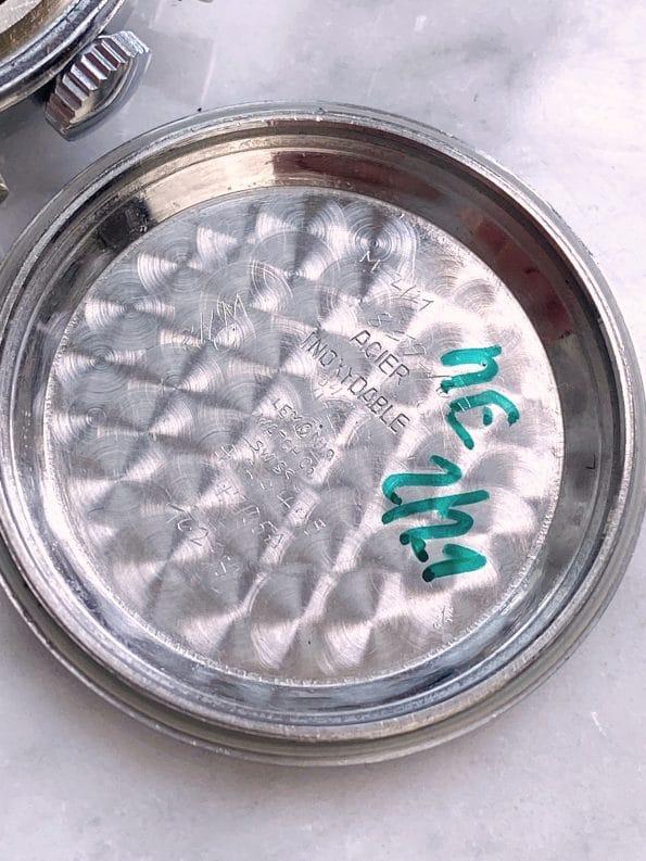 Serviced Lemania Vintage Chronograph Steel 35mm
