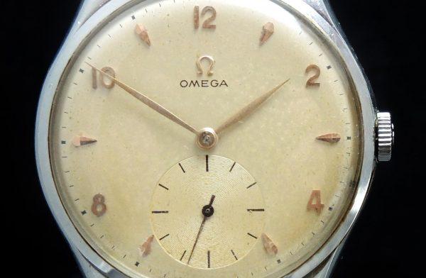 Amazing Omega 38mm Oversize Jumbo