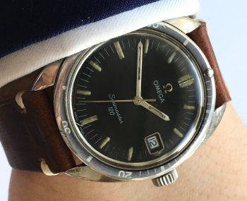 [:en]Serviced Omega Seamaster 120 Vintage Date Handwinding[:de]Servicierte Omega Seamaster 120 Vintage Datum Handaufzug[:]