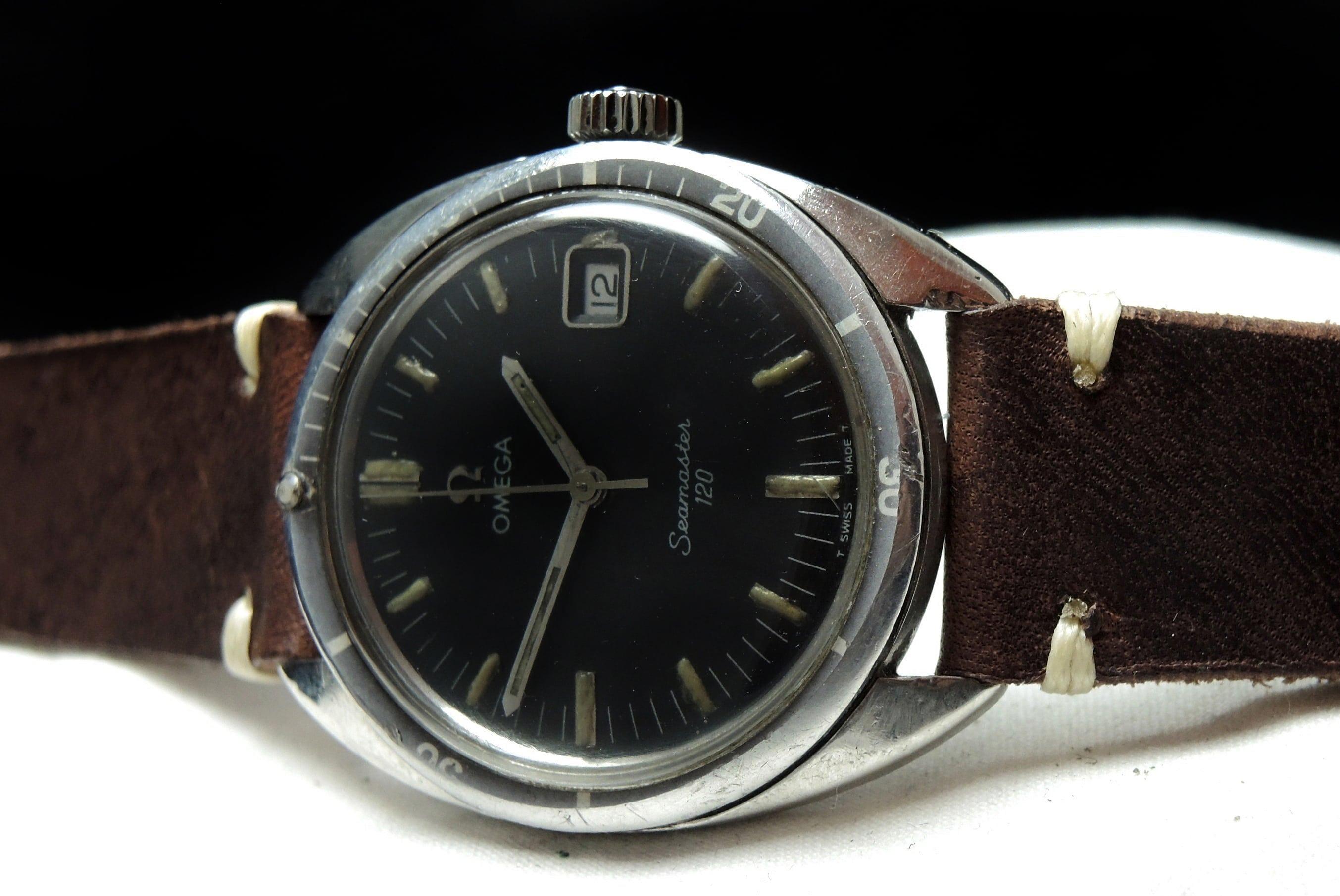 Günstige Omega Seamaster 120 Vintage Date