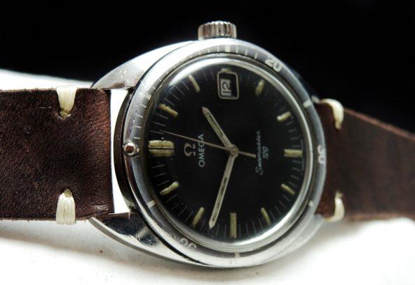 Serviced Omega Seamaster 120 Vintage Date Handwinding