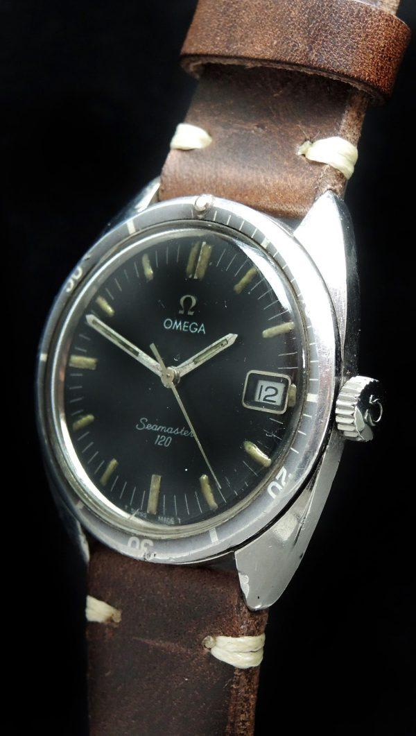 Omega Seamaster 120 Vintage Date