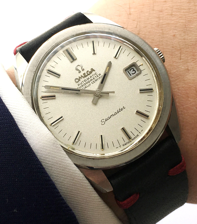 Rare Omega Seamaster 36mm Automatic Chronometer Vintage Portfolio