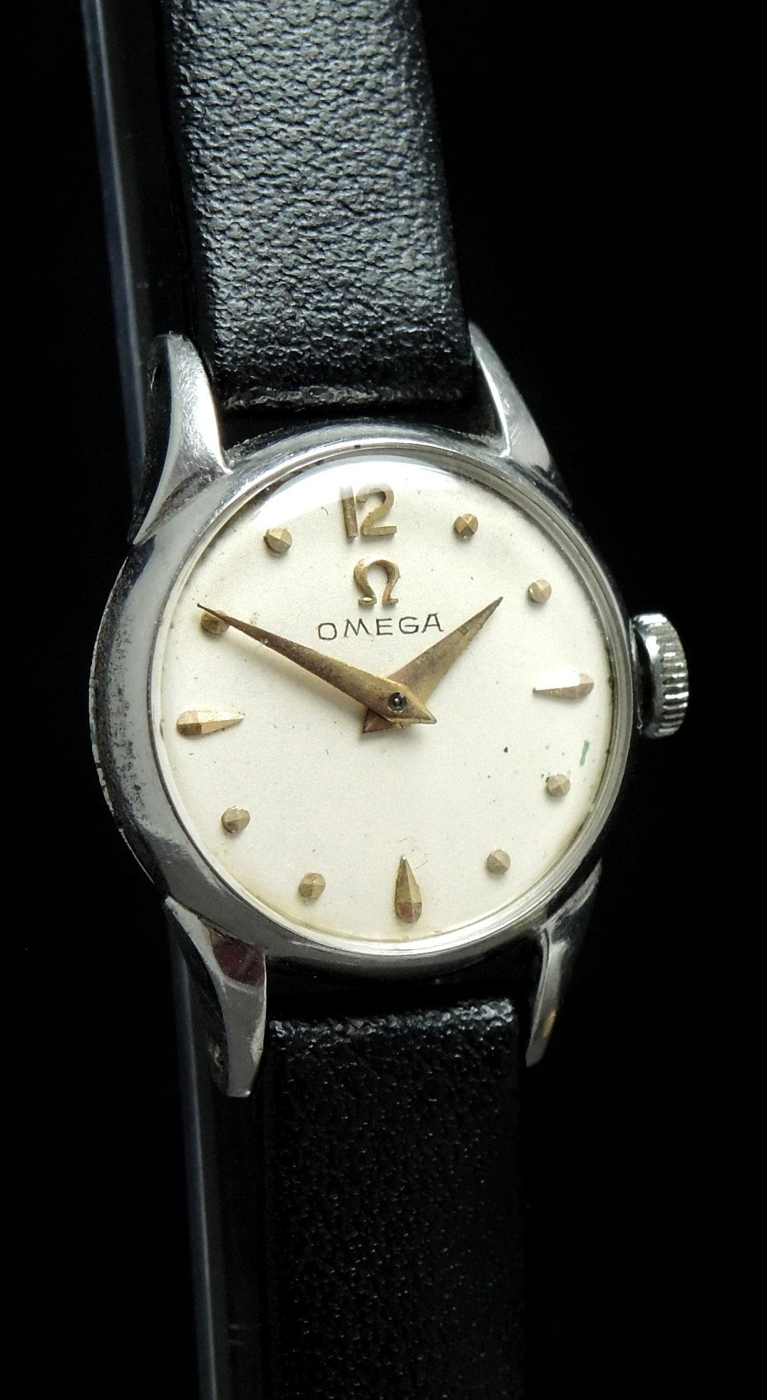 Small omega ladies watch vintage vintage portfolio for Omega watch vintage