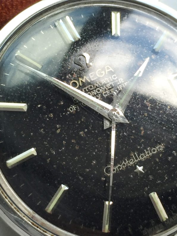 Vintage Omega Constellation Original Black GILT Dial