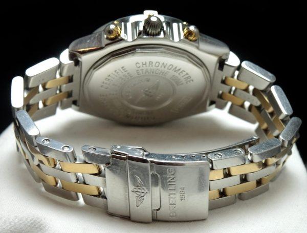 Original Breitling Crosswind Automatic Steel Gold