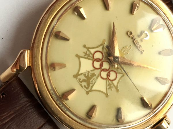 Omega Seamaster XVI Olympic Melbourne 1956 18ct solid gold