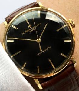 Rare VacheronConstantin Chronometer Solid Gold