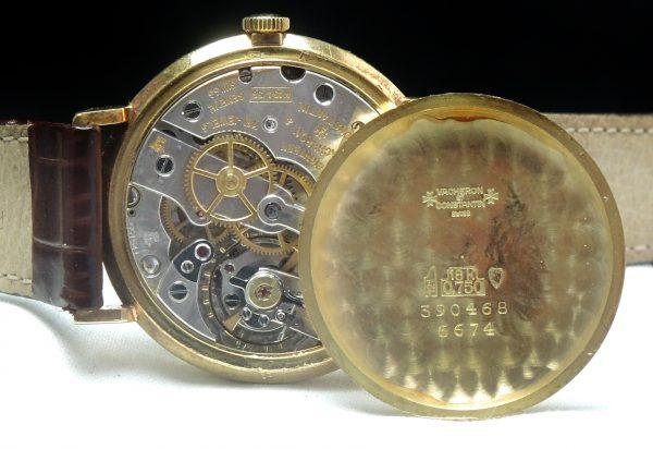 Rare Vacheron Constantin Chronometer Solid Gold