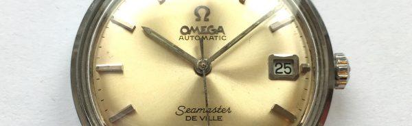 Serviced Omega Seamaster Vintage De Ville Automatic Steel