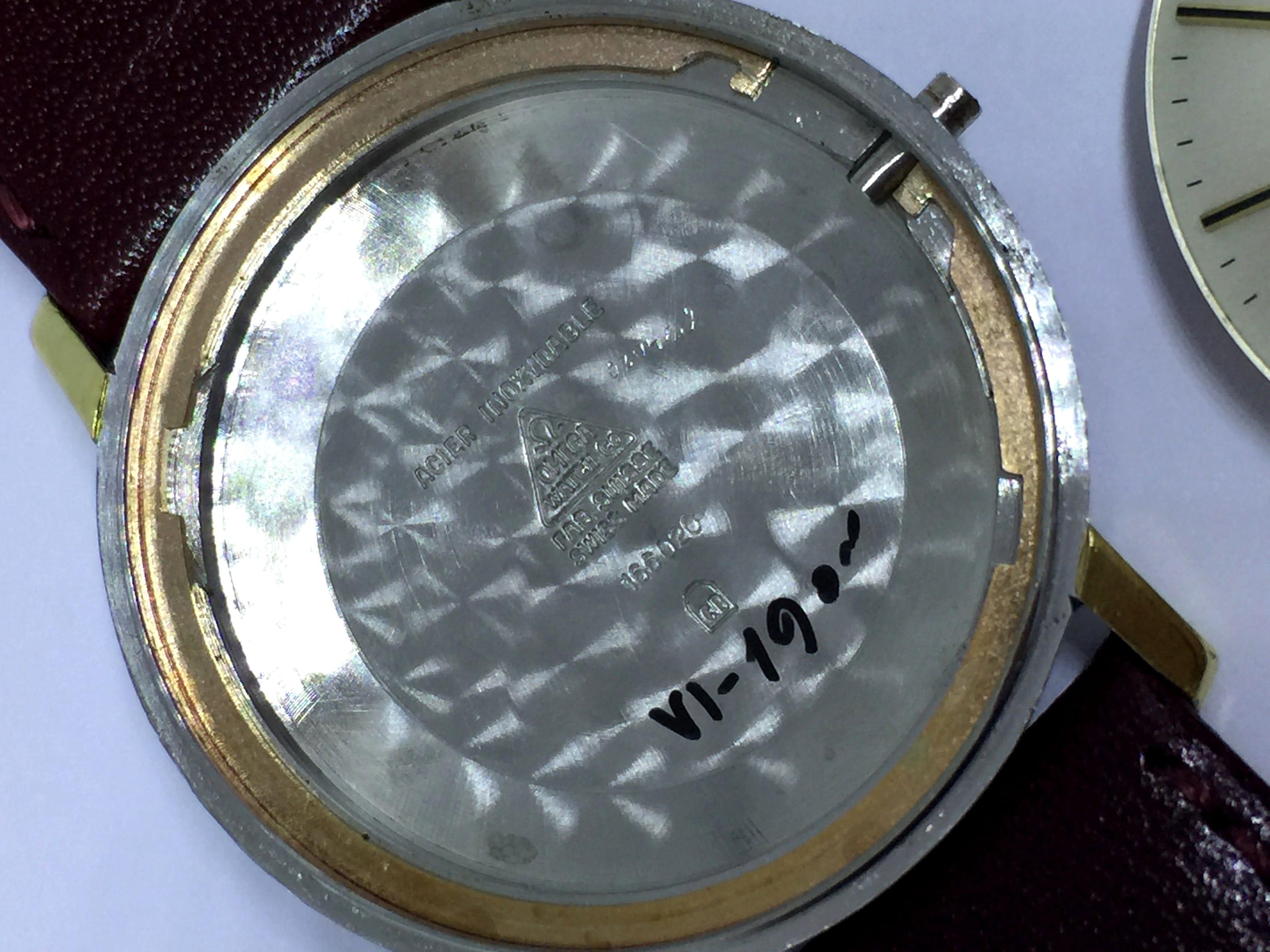 Fantastische vergoldete Omega Seamaster Automatik De Ville Datum