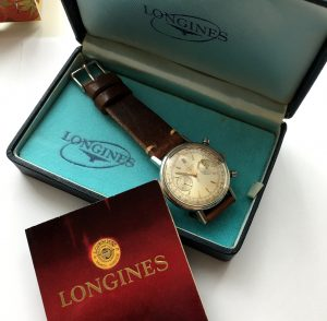 Investment Grade Longines Jumbo Steel Chronograph