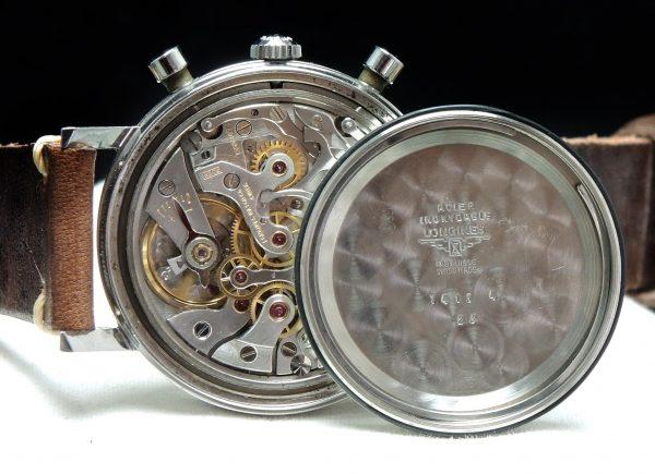 Investment Grade Longines Jumbo Steel Chronograph