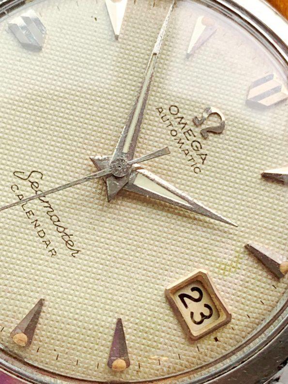 Vintage Omega Seamaster Automatic Calendar Honeycomb