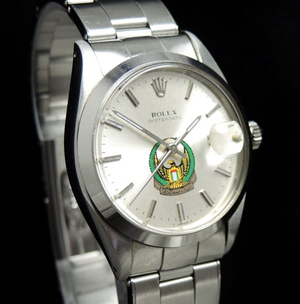 MINT Rolex Oyster Date Arab Military Dial UAE