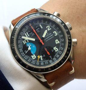 Omega Speedmaster Automatic Triple Date