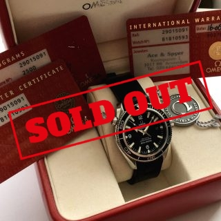Omega Seamaster Automatic Planet Ocean Co Axial Full Set
