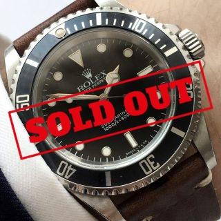 Originale Rolex Submariner No Date Tritium Automatik