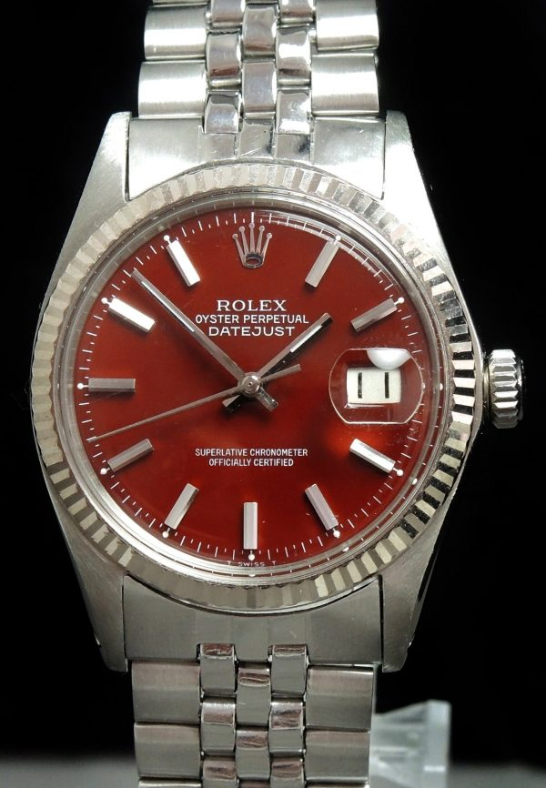 Serviced Rolex Datejust Automatic brown dial 36mm