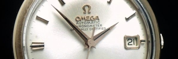 Vintage Omega Constellation Automatic Solid Pink gold