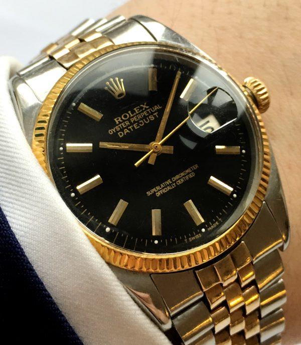 Restored Rolex Datejust 36mm Steel Gold Jubilee Strap