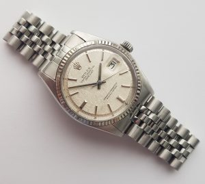 Serviced Rolex Datejust Automatic linen dial 36mm