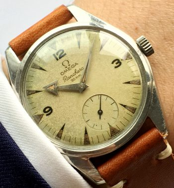 Cream Dialed Omega Ranchero Vintage Broad Arrow
