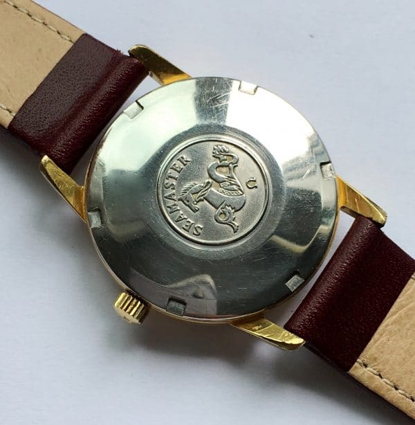 Vintage Omega Seamaster Automatic gold plated
