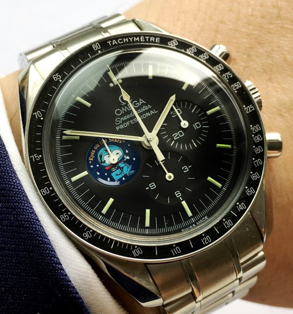 Rare Omega Speedmaster Moonwatch Snoopy Award